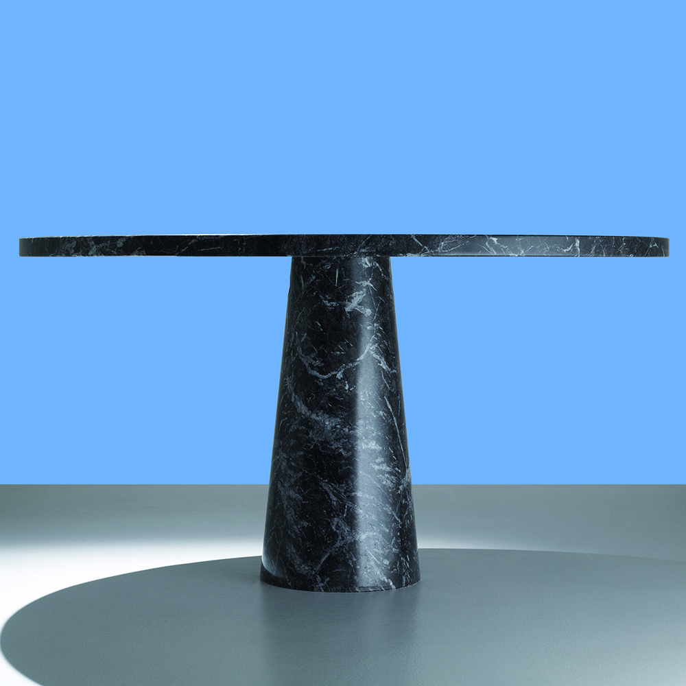 Eros Table designed by Angelo Mangiarotti, manufactured by AgapeCasa.