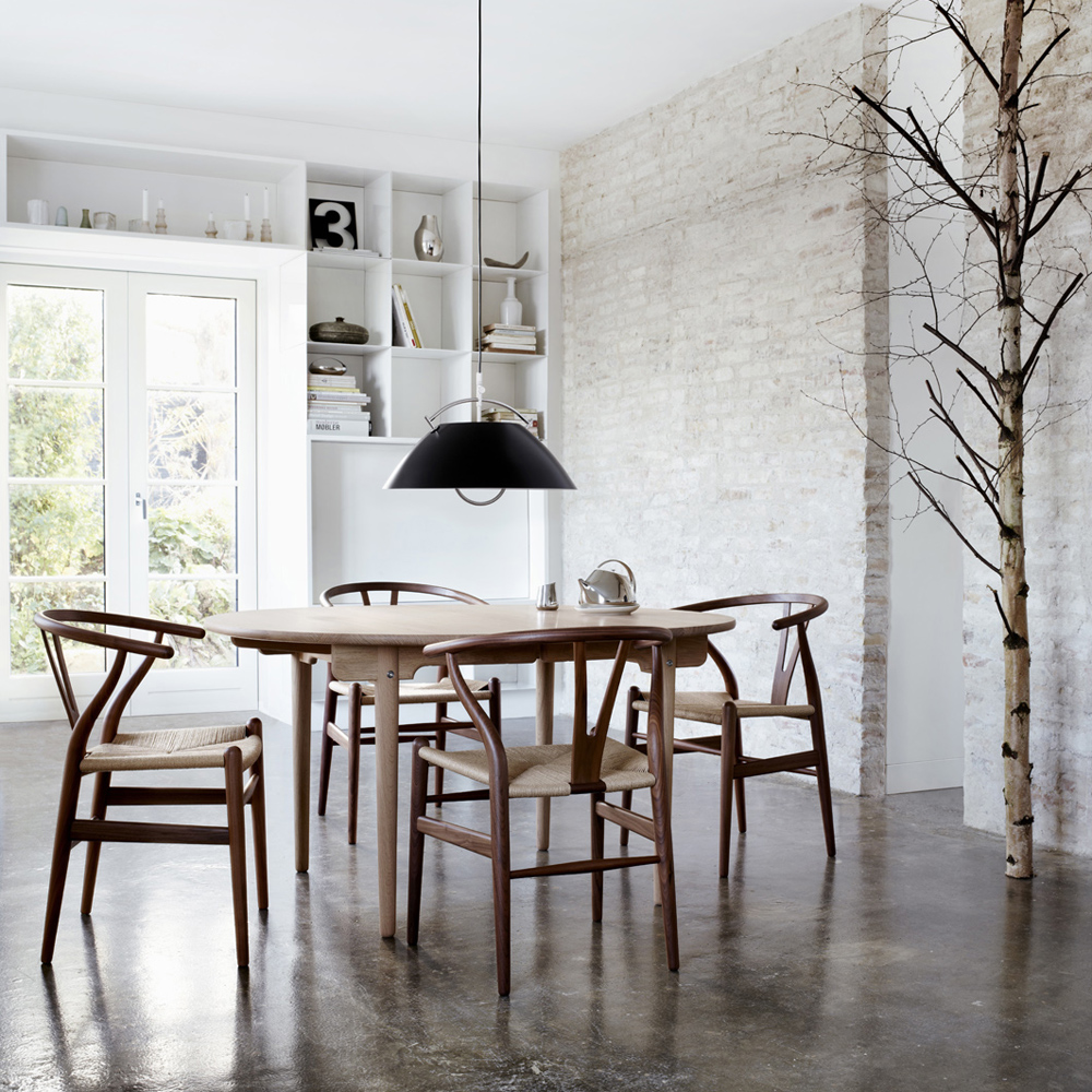 ch24 wishbone chair hans j wegner carl hansen and son suite ny. Black Bedroom Furniture Sets. Home Design Ideas