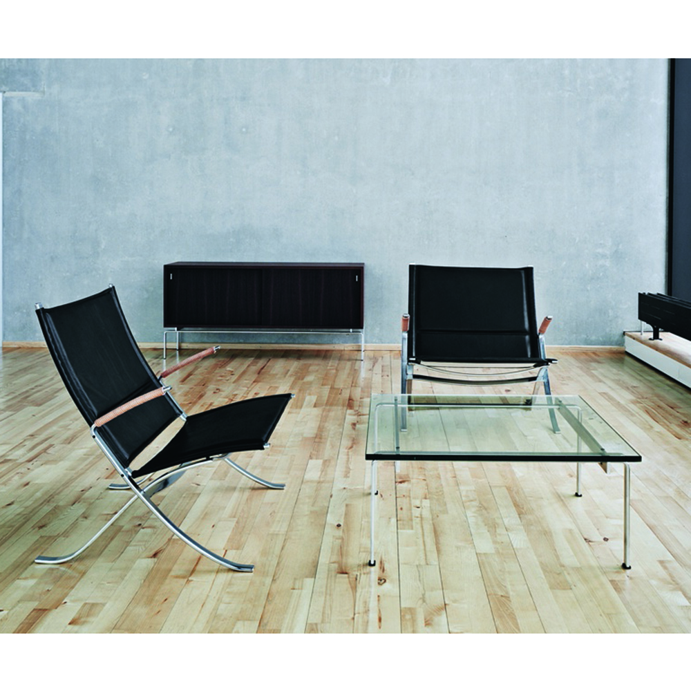 FK 82 X Chair designed by Fabricius/Kastholm for Lange Production