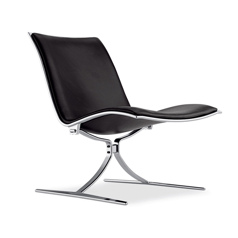 FK710 Skater Chair designed by Fabricius & Kastholm, manufactured by Lange Production