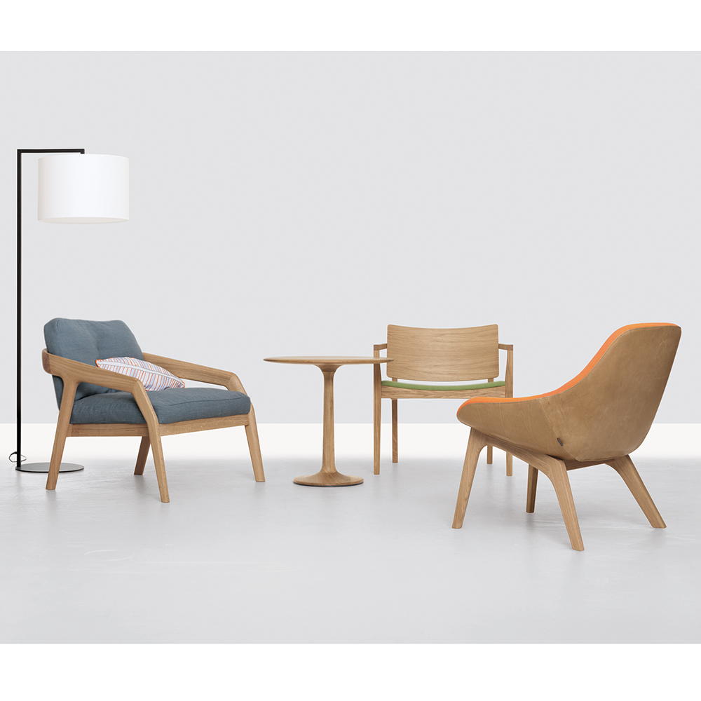Friday lounge chair designed by Formstelle for Zeitraum