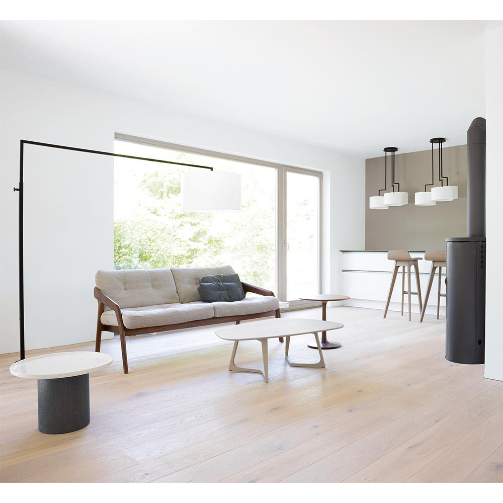 High Noon floor lamp El Schmid Zeitraum industrial contemporary floor light