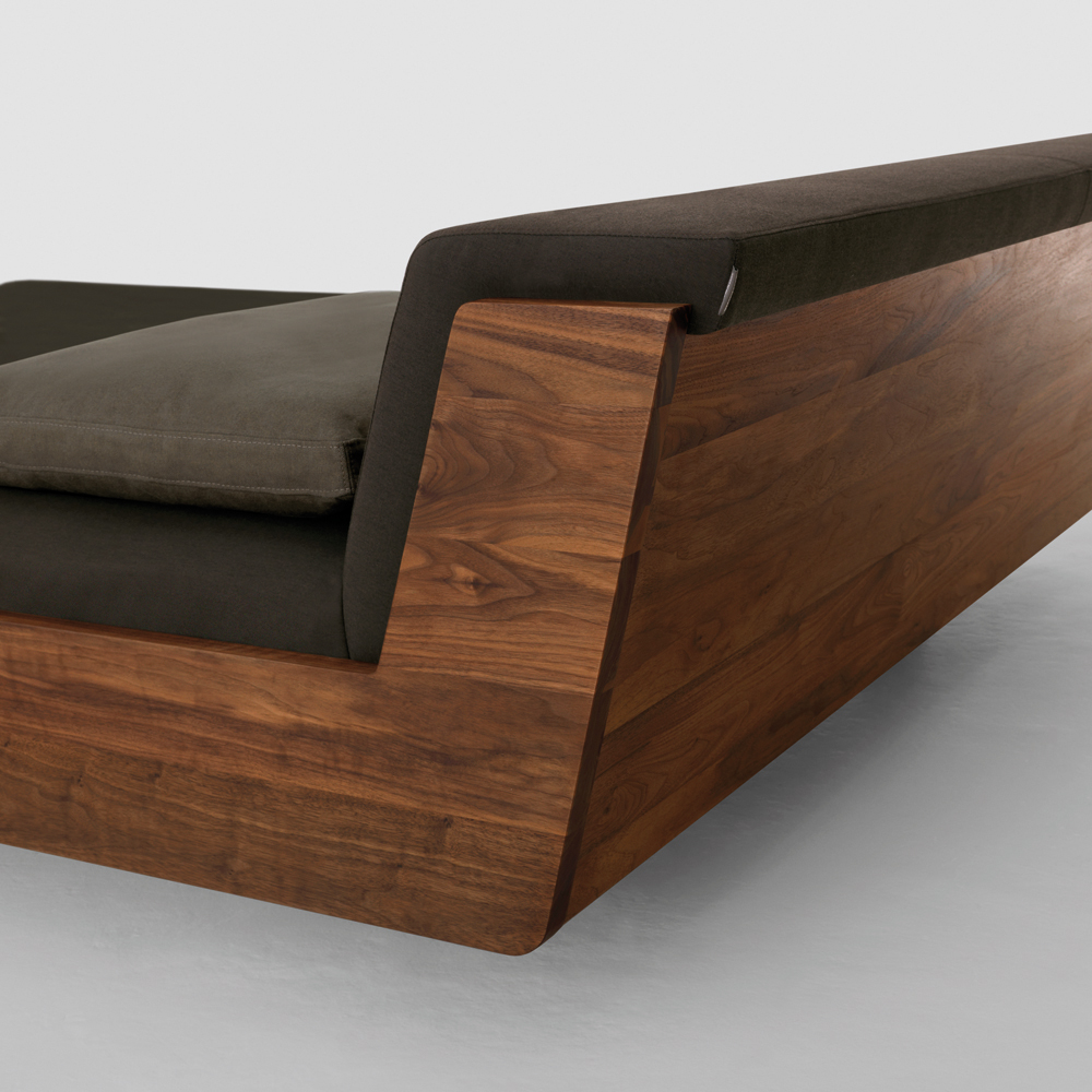 Fusion bed designed by Formstelle for Zeitraum