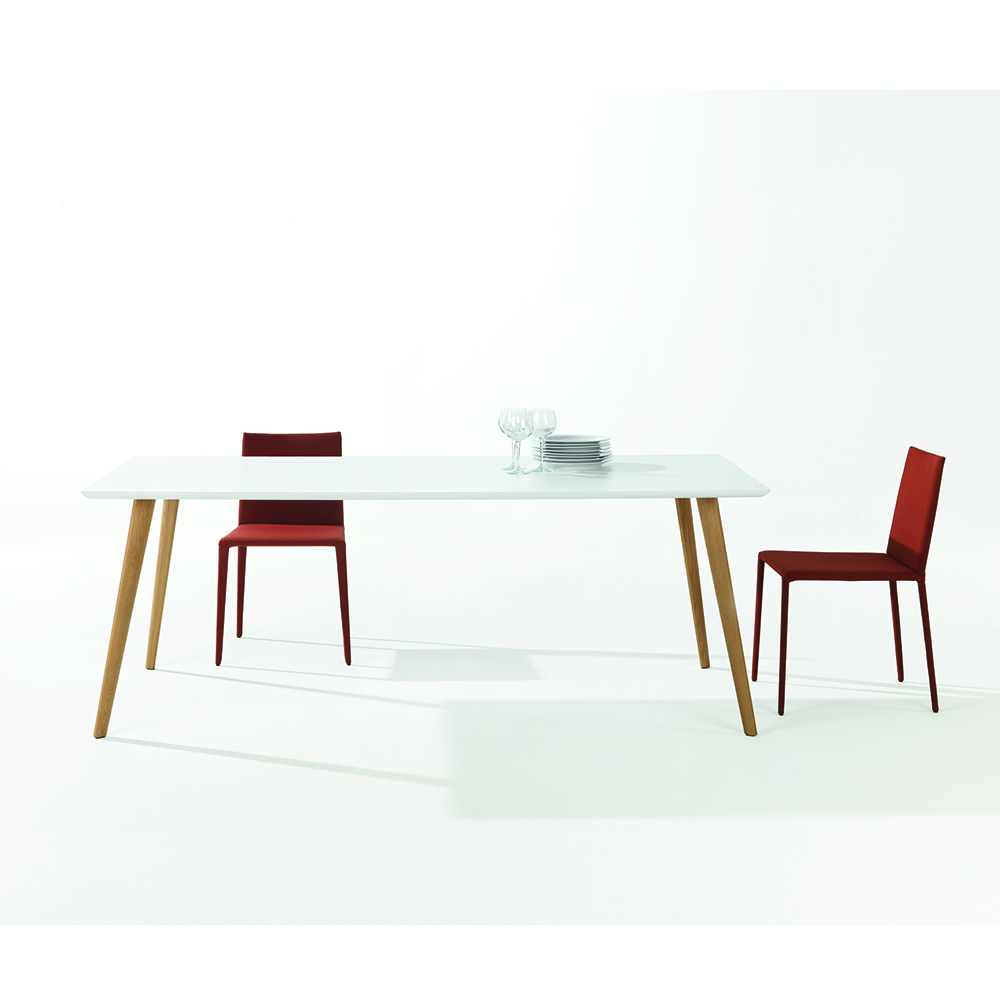 Gher Table collection designed by Lievore, Altherr, Molina for Arper