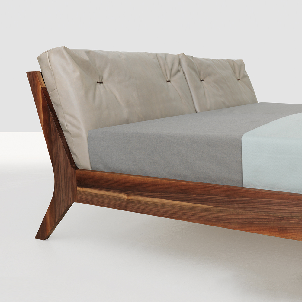 Grand Mellow bed Formstelle Zeitraum wooden bed
