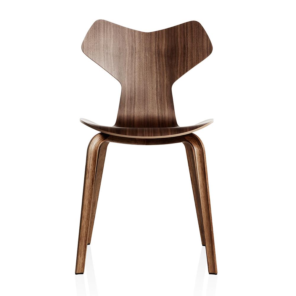 Grand Prix 4130 Wooden Legs Arne Jacobsen Fritz Hansen