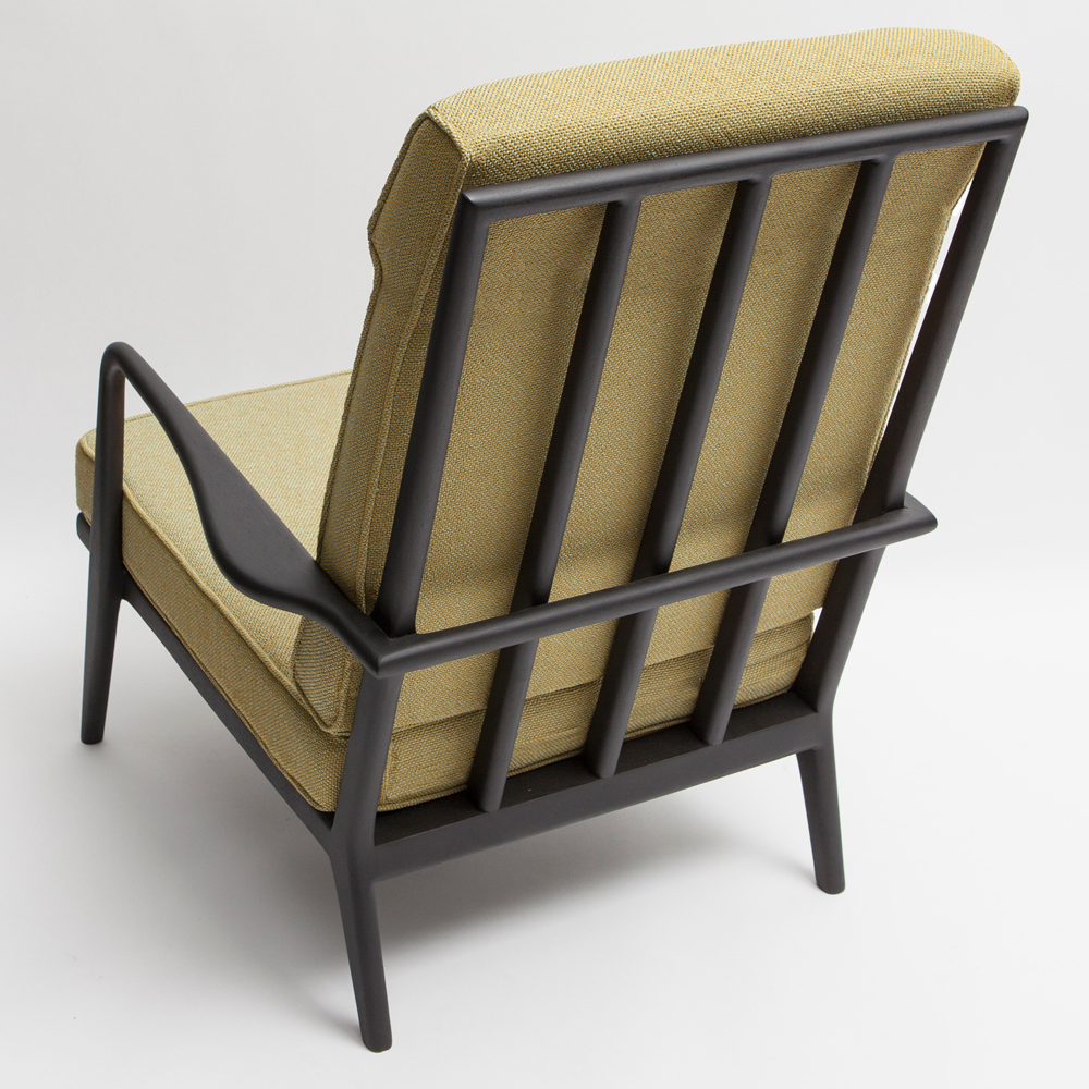 High Back Rail Armchair Mel Smilow Furniture