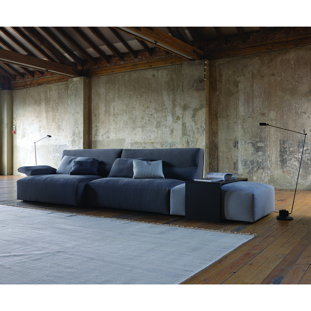 Joe Sofa collection designed by Lievore, Altherr, Molina for Verzelloni.