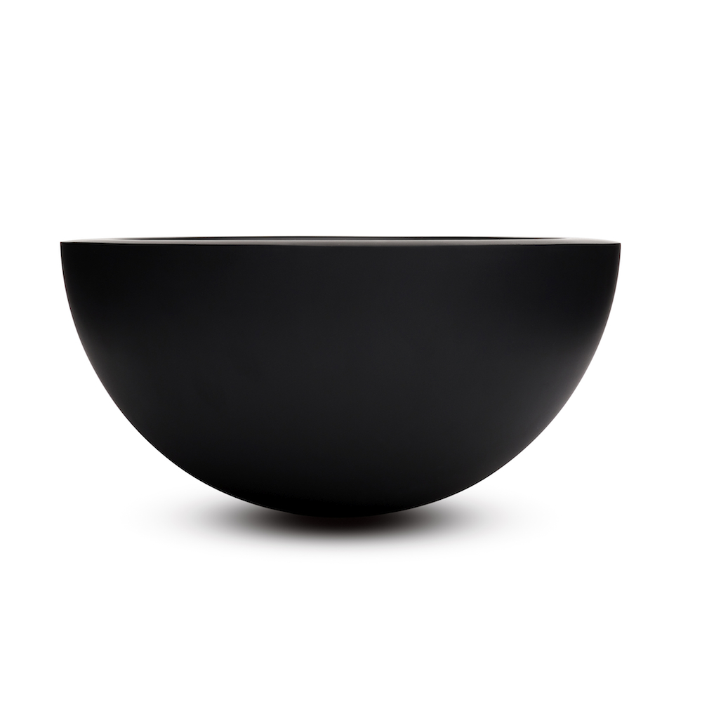 Bronze bowl designed by John Pawson for when objects work