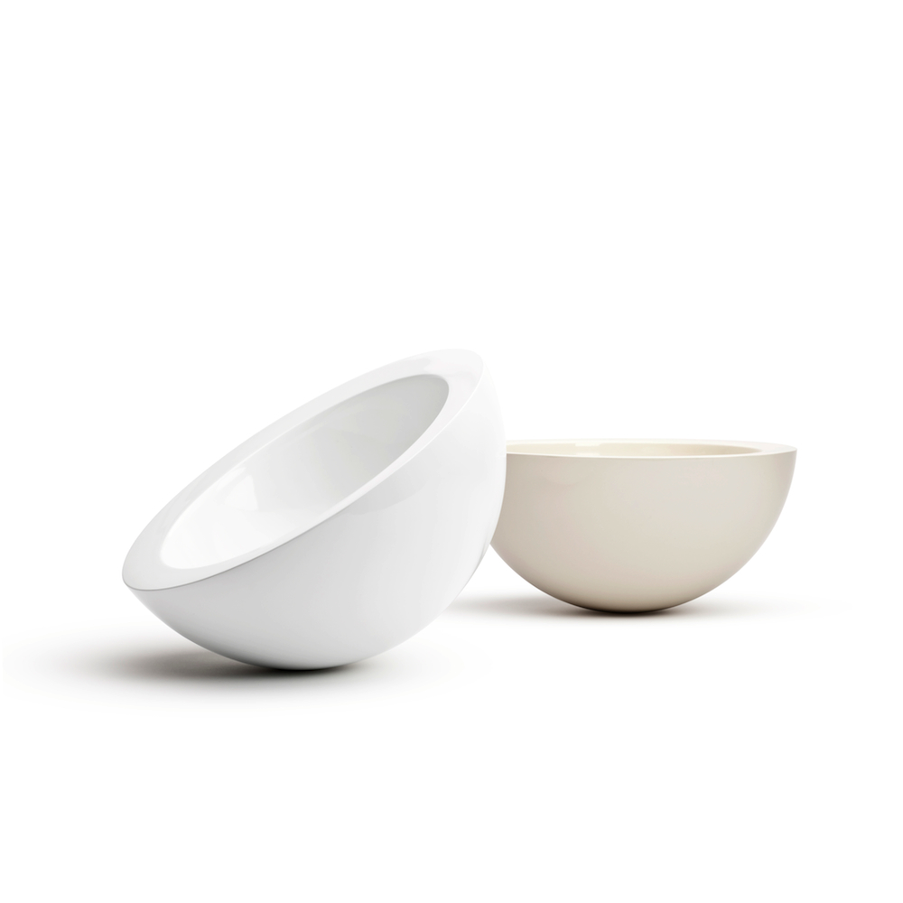 Off White Bowl designed by John Pawson for when objects work