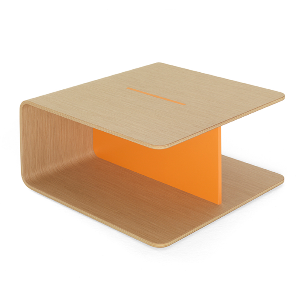 Keel table designed by Form Us With Love for De Padova.