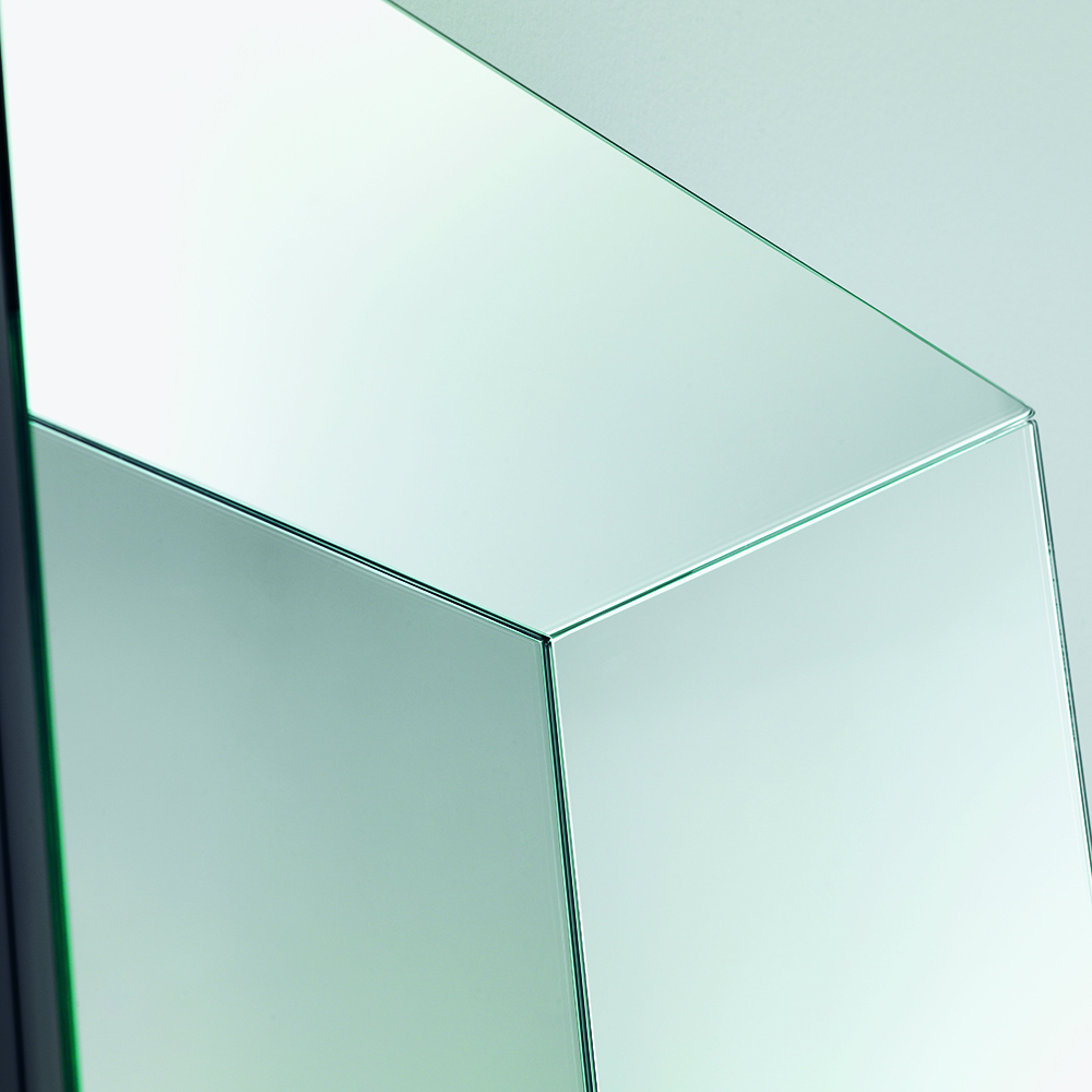Leon Battista Mirror designed by Laudani & Romanelli for Glas Italia