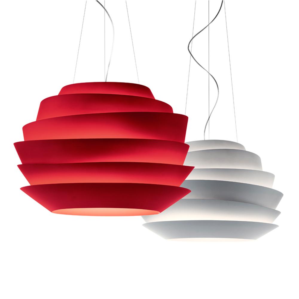 Le Soliel suspension light designed by Vicente Garcia Jimenez for Foscarini