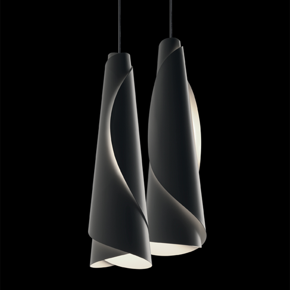 Maki suspension light designed by Nendo for Fosarini.