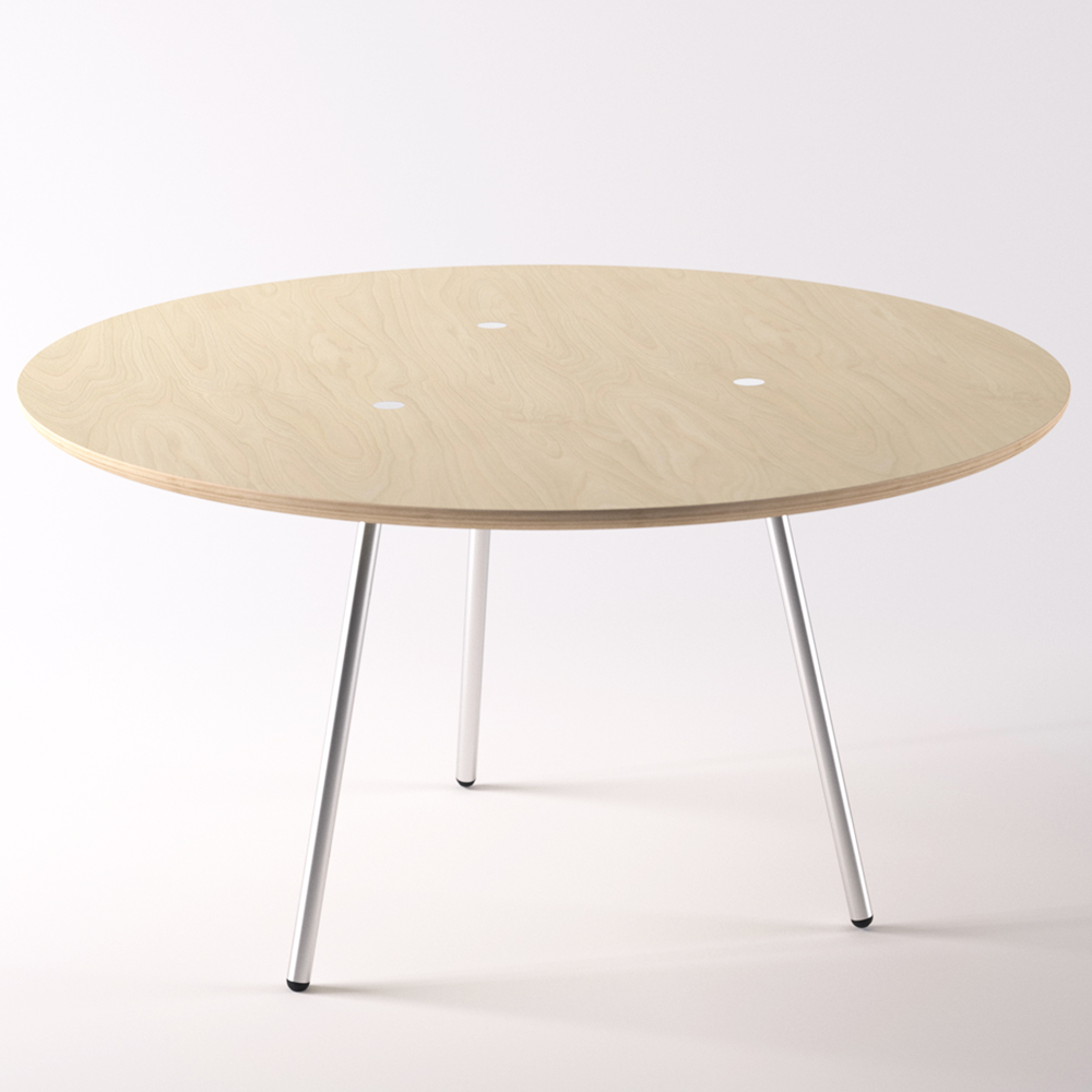More Table designed by Angelo Mangiarotti, manufactured by AgapeCasa.
