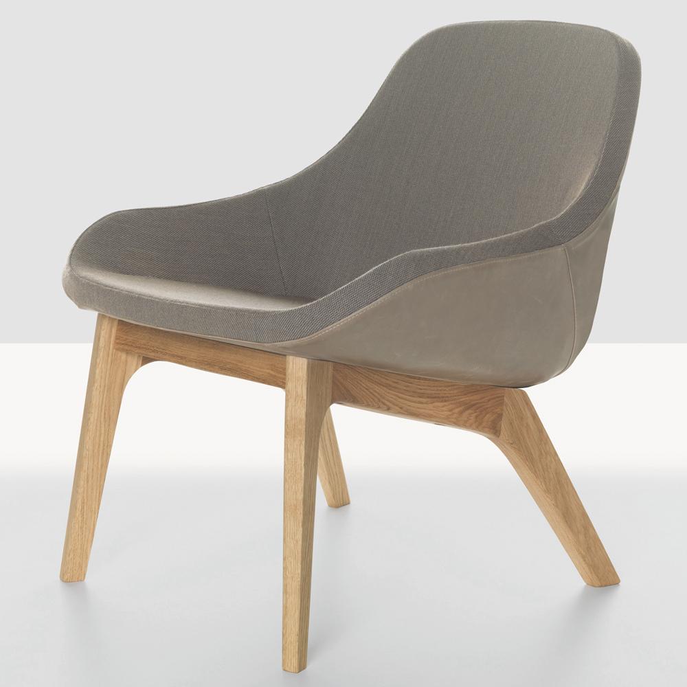 Morph Lounge Formstelle Zeitraum upholstered armchair modern grey