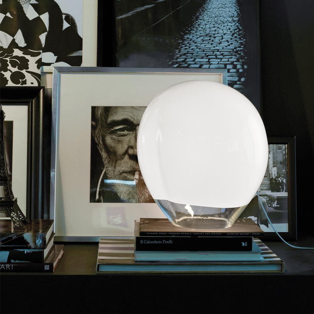 Nessa table lamp Vistosi glass italian design lighting shop suite ny
