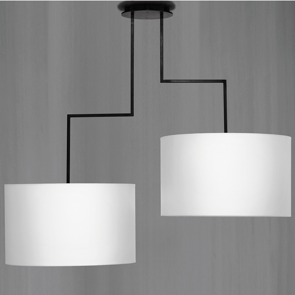 Noon 2 suspension light designed by El Schmid for Zeitraum.