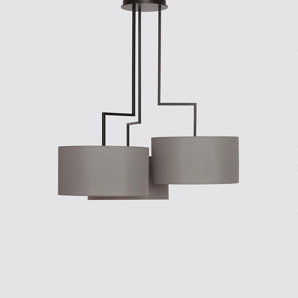 Noon 3 suspension light designed by El Schmid for Zeitraum.