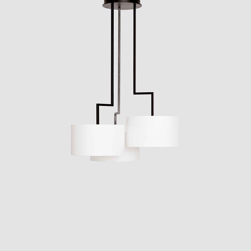 Noon 3 Small suspension light designed by El Schmid for Zeitraum.