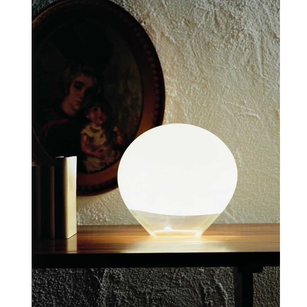 Nessa table lamp Vistosi glass