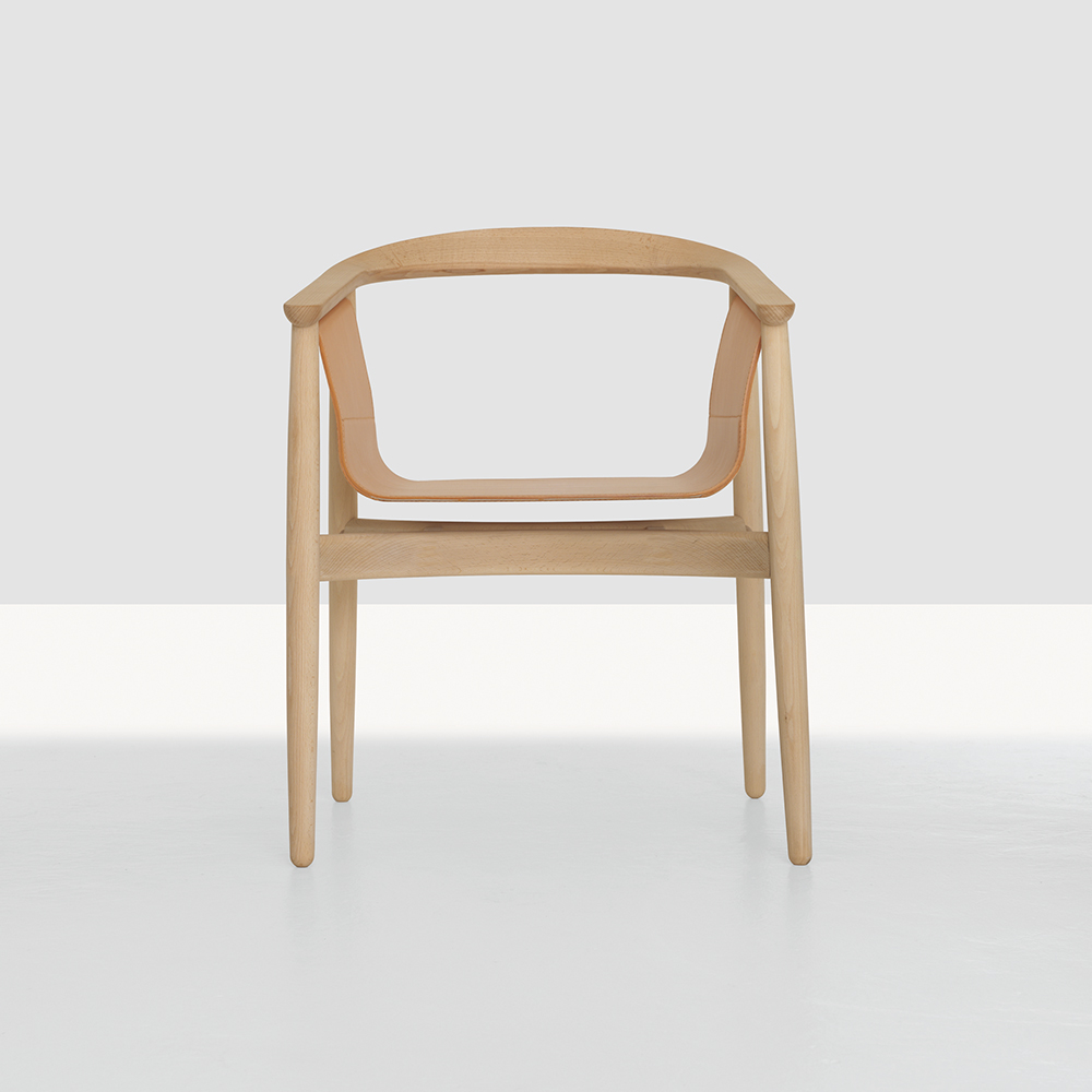 Pelle Chair designed by Lorenz Kaz for Zeitraum.