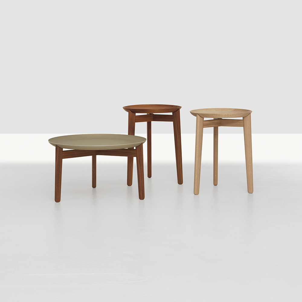 Plaisir table collection designed by Formstelle for Zeitraum
