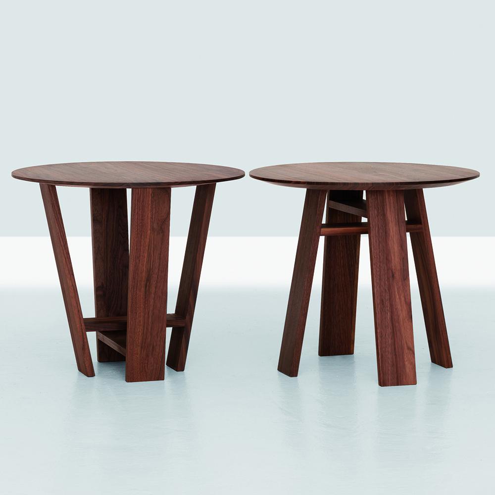 Bondt S, M, L occasional table designed by Nana Gröner and Merit Frank for Zeitraum