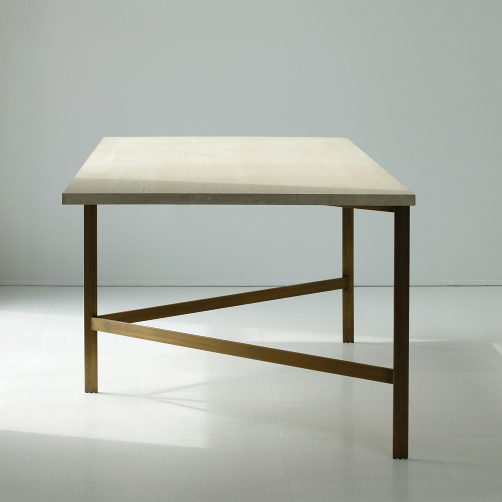Plank Dining Table designed by Craig Bassam and Scott Fellows for BassamFellows.