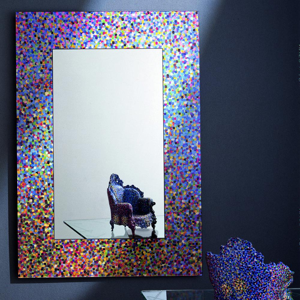Specchio di Proust mirror designed by Allessandro Mendini for Glas Italia