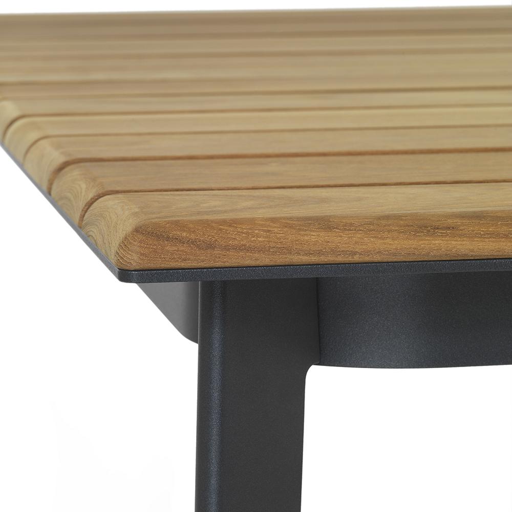 Railway outdoor table designed by Luca Nichetto for De Padova