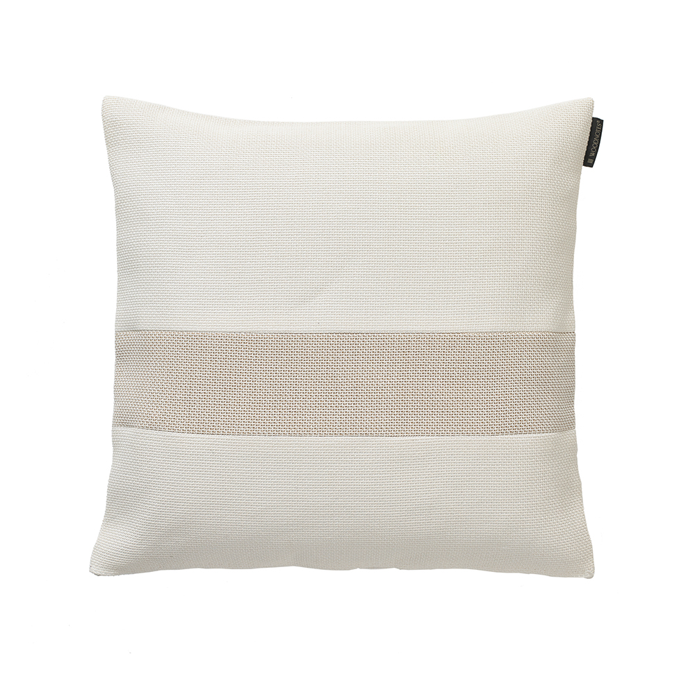 Rest Cushions Woodnotes ecofriendly pillows stone white