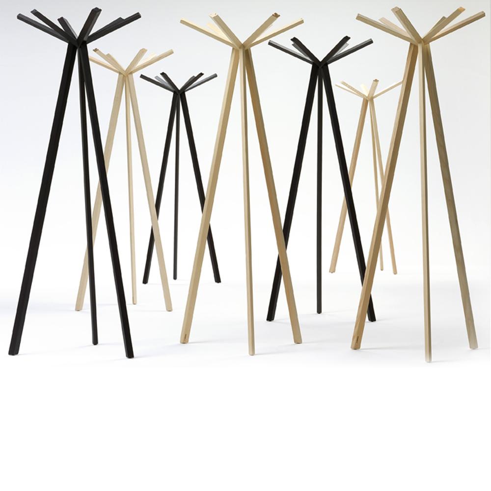 Rokumaru coat rack designed by Nendo for De Padova.
