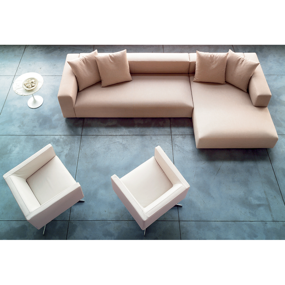 rubik cream sofa Verzelloni SUITE NY contemporary couch sectional