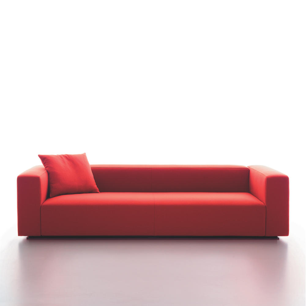 Rubik red sofa Verzelloni SUITE NY contemporary couch sectional