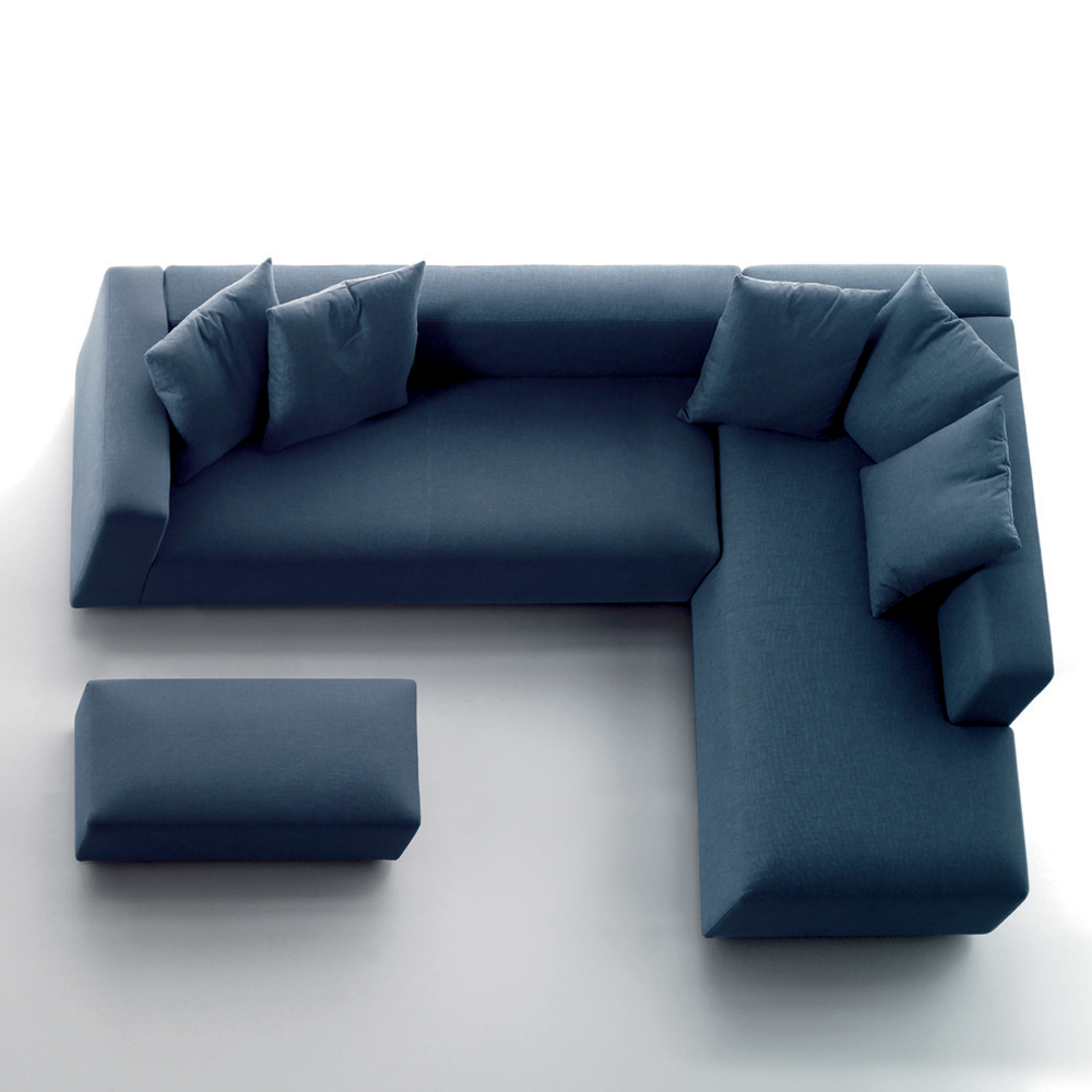 Rubik sofa Verzelloni SUITE NY contemporary couch sectional