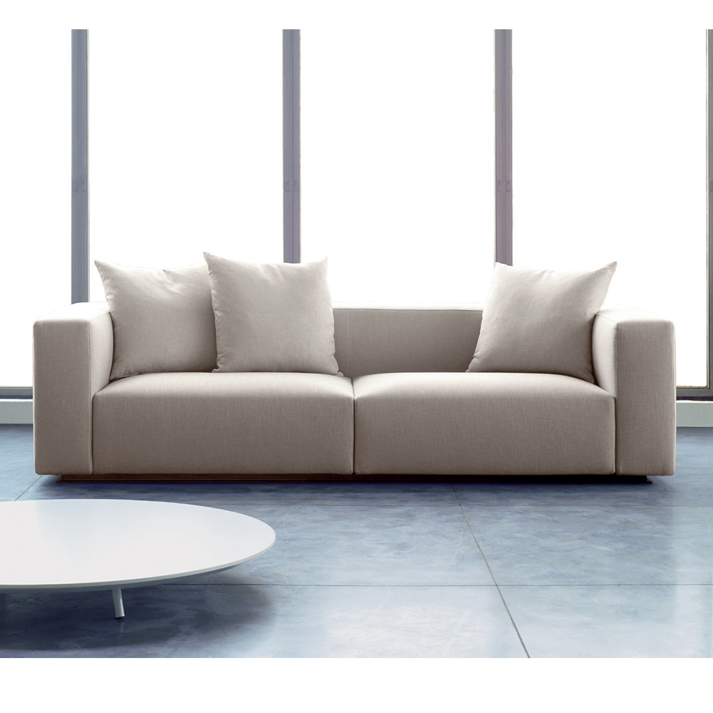 rubik white modern sofa Verzelloni SUITE NY contemporary couch sectional