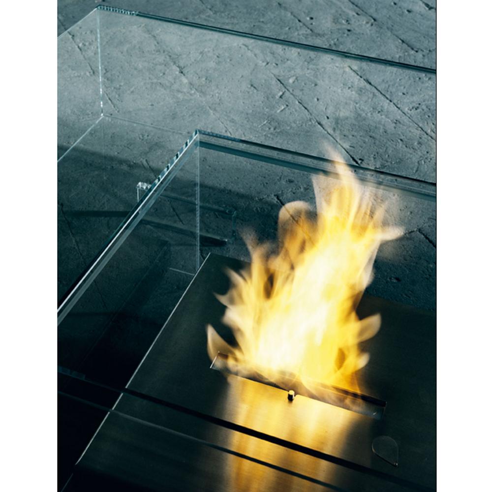 Seasons glass table designed by Jean-Marie Massaud for Glas Italia.