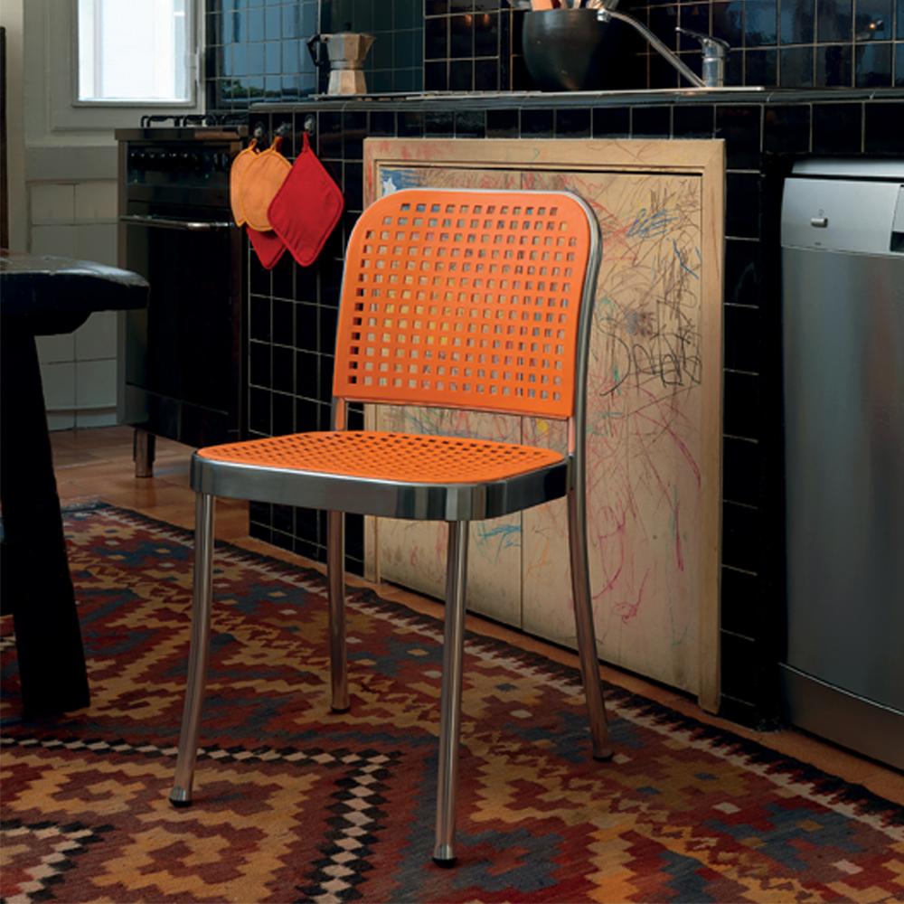 Silver Chair designed by Vico Magistretti for De Padova