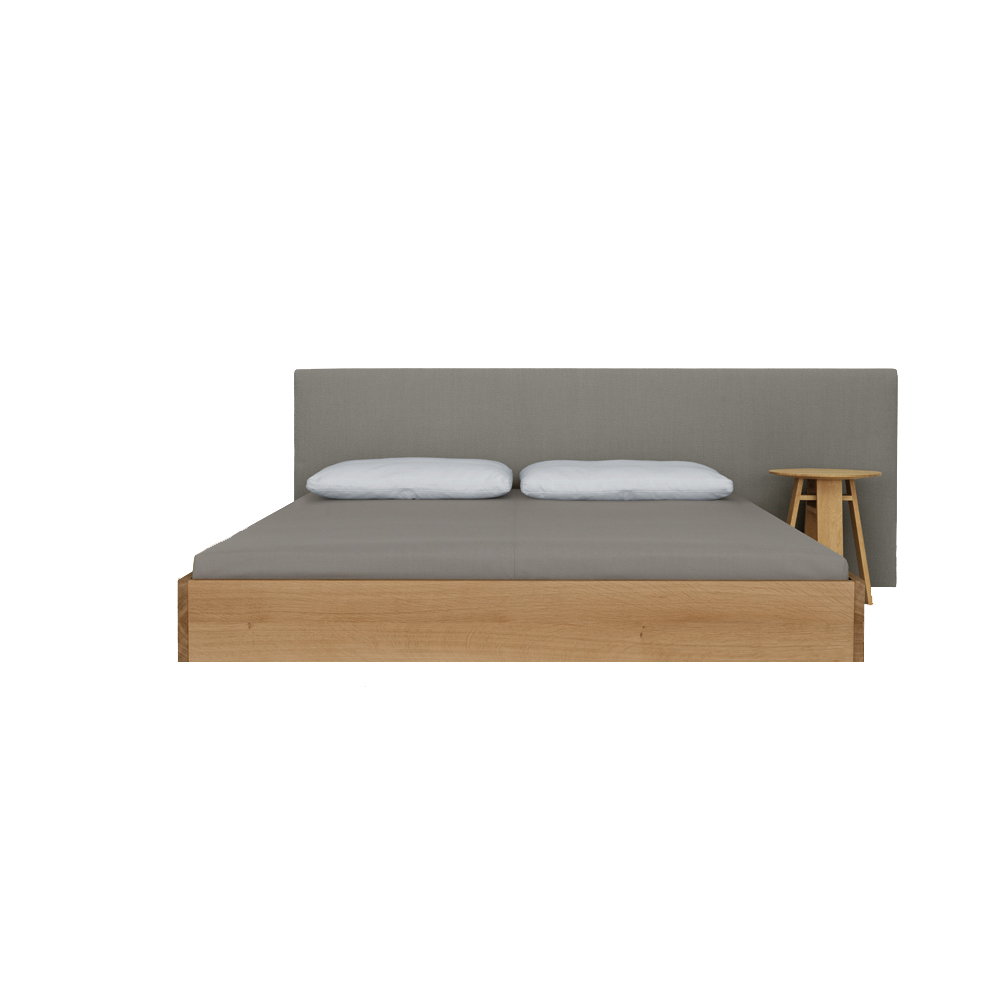 Simple Comfort contemporary wooden bed by Formstelle for Zeitraum Germany