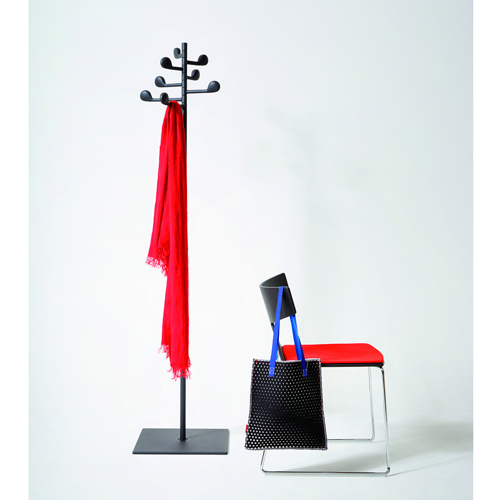 Song coat rack designed by Lievore, Altherr, Molina for Arper