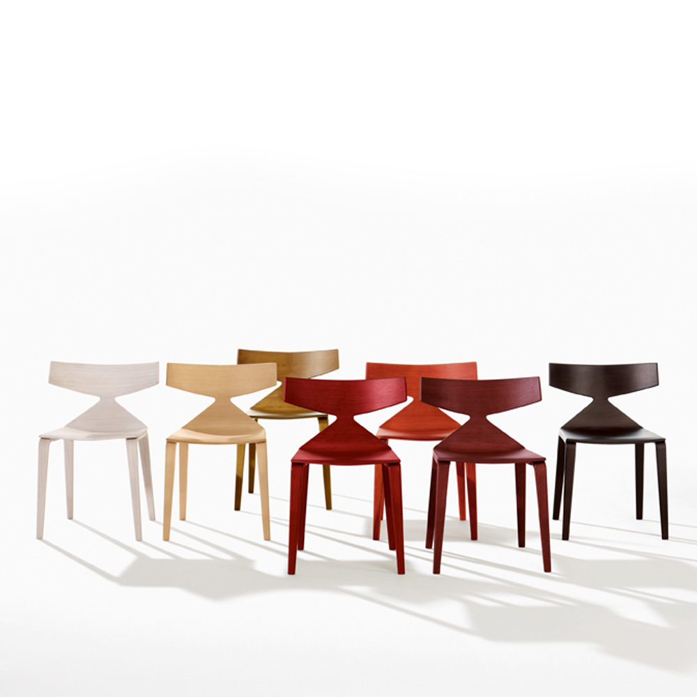 Saya chair Arper Lievore Altherr Molina contemporary stacking
