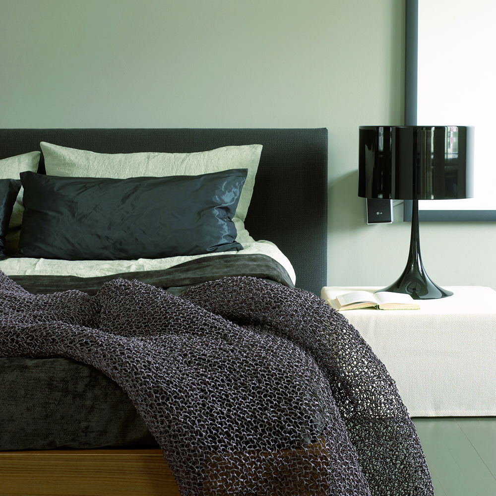 Seaborn Throw designed by Ritva Puotila for Woodnotes.