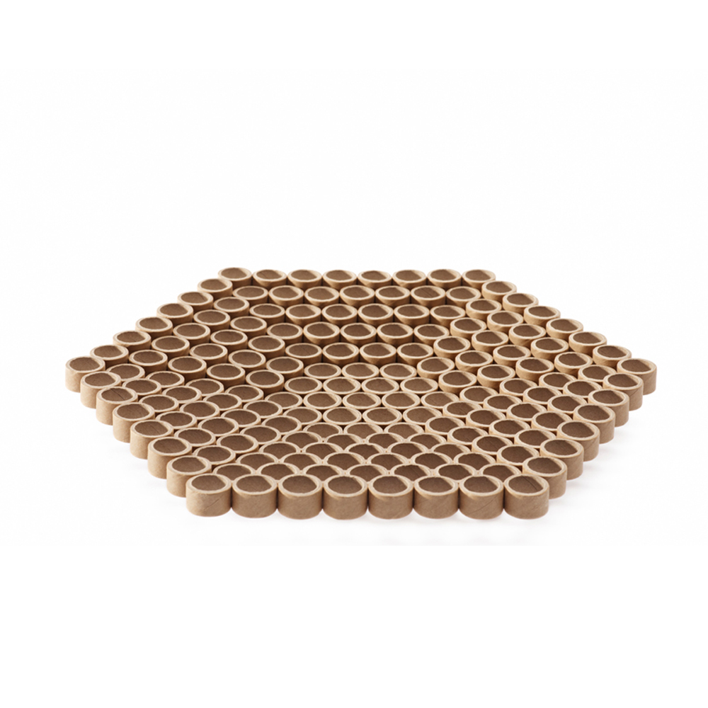 Maru bowl by Shigeru Ban for when objects work ecofriendly home accessory paper tube dish