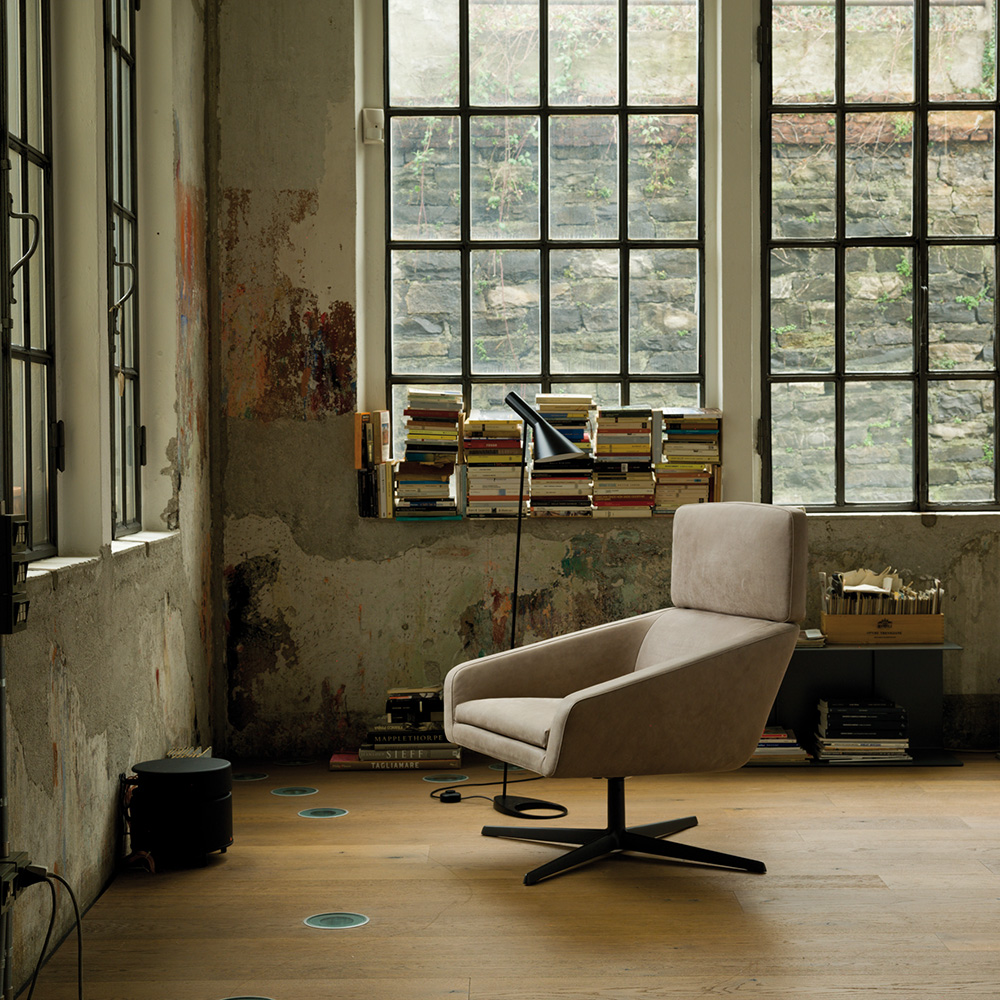 Sillon lounge chair designed by Lievore, Altherr, Molina for Verzelloni