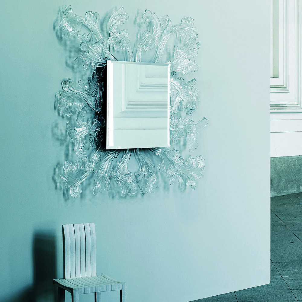Sturm und Drang mirror designed by Piero Lissoni for Glas Italia