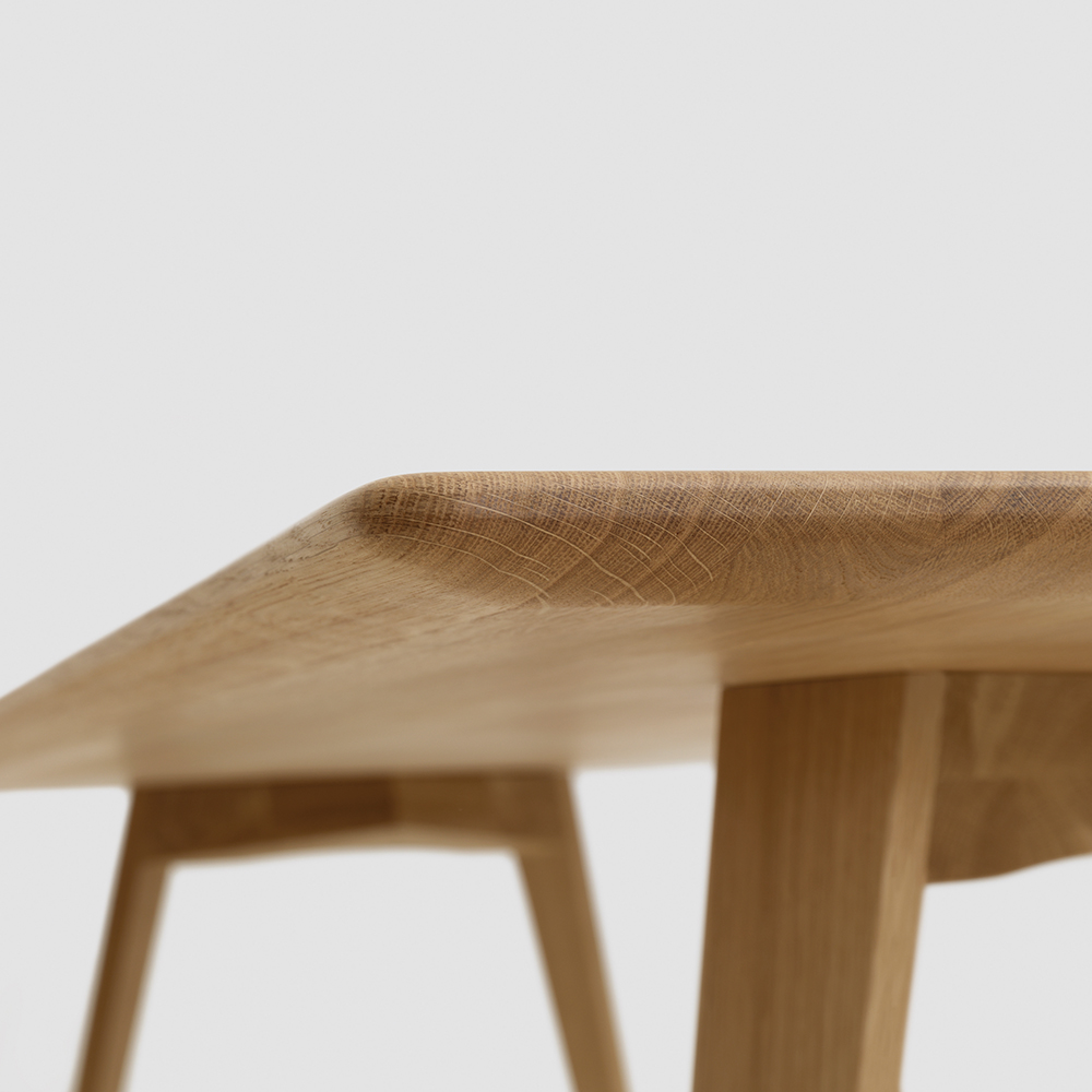 Twist Table designed by Formstelle for Zeitraum