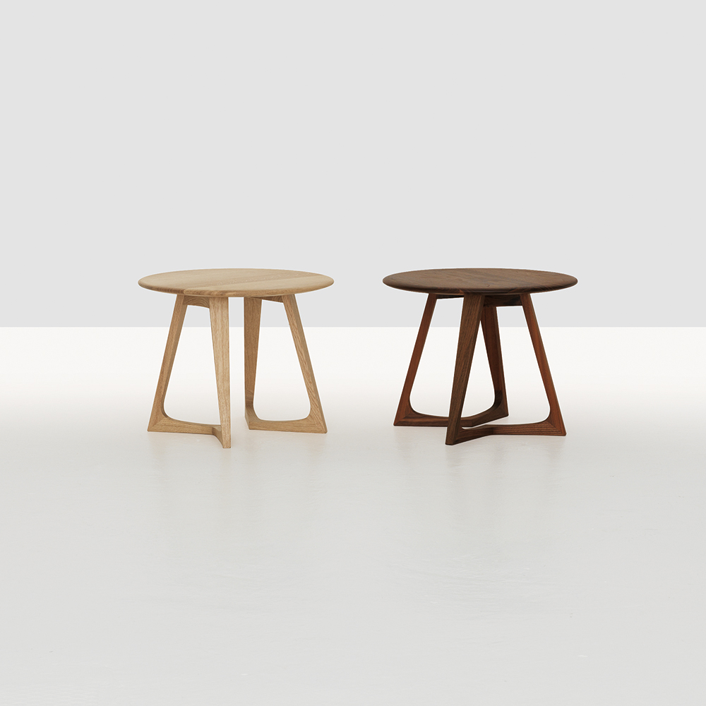 Twist Night table designed by Formstelle for Zeitraum