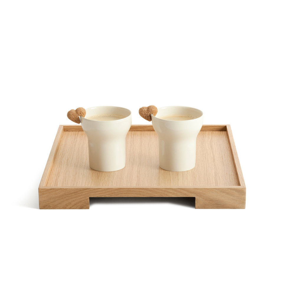 Tray collection designed by Claire Bataille and Paul Ibens for when objects work