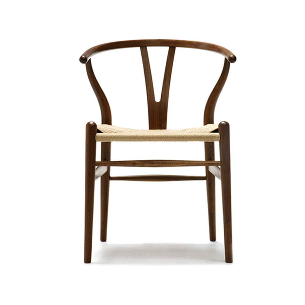 CH24 Wishbone Chair in Walnut designed by Hans J. Wegner for Carl Hansen and Son